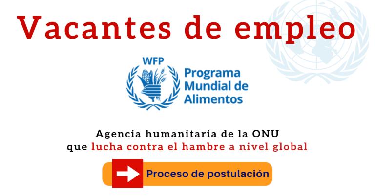 Programa Mundial de Alimentos empleo
