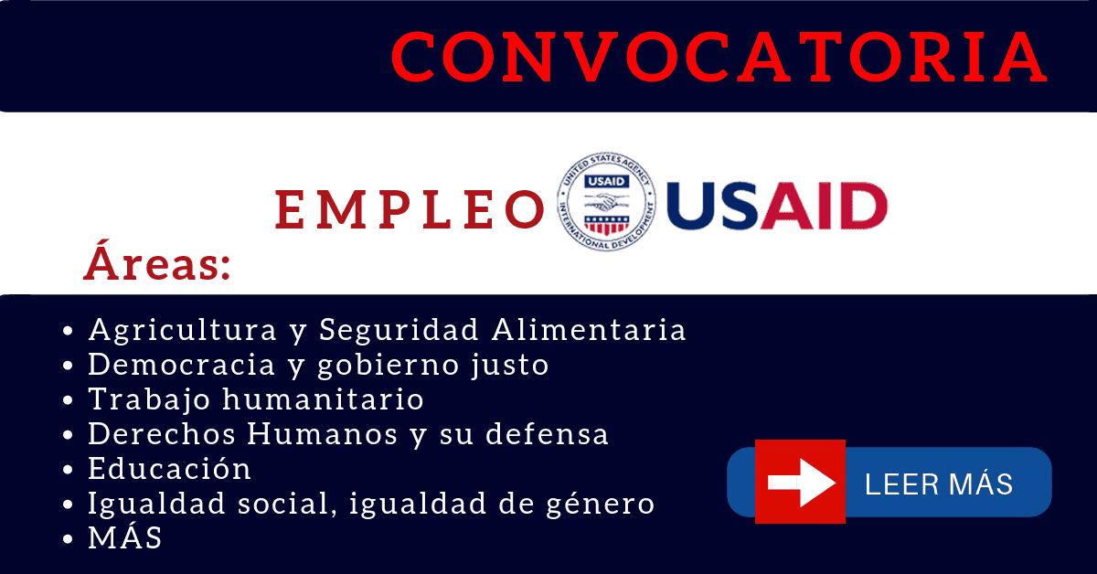 USAID portal de empleo