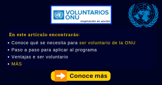 Voluntariado ONU UNV