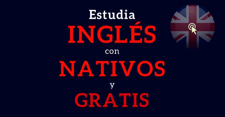 cursos de inglés en línea con nativos