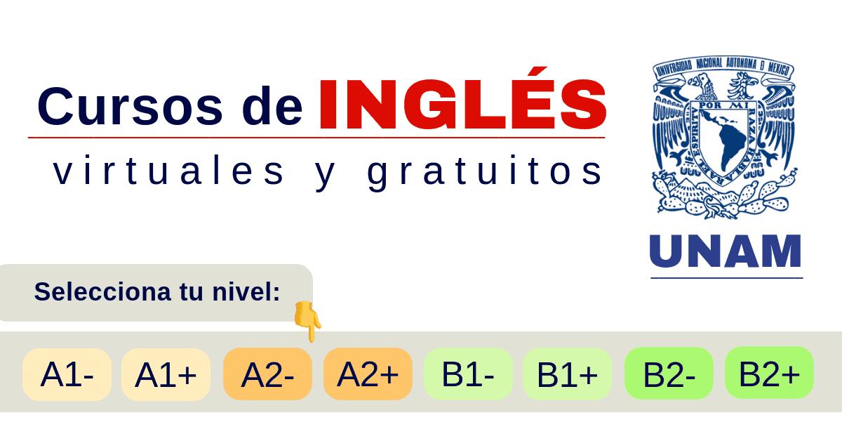 Curso De Inglés Unam En Línea Certificado Para Estudiantes