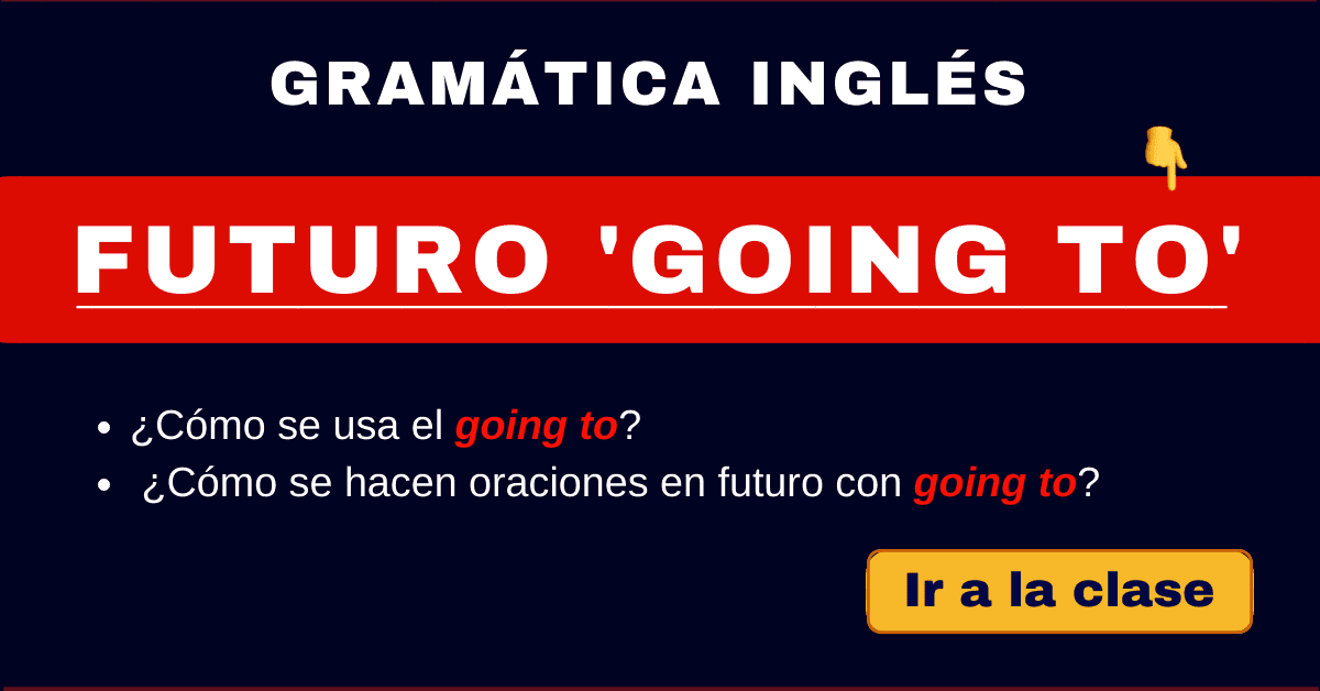 futuro going to gramatica