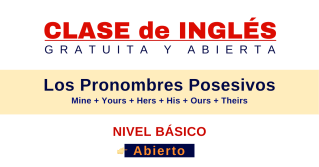 pronombres posesivos en ingles gramatica