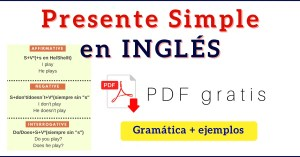 presente simple en ingles present simple