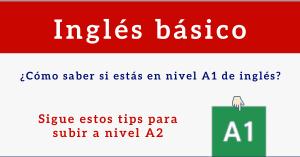 nivel a1 ingles basico