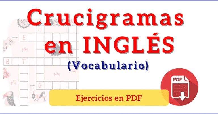 crucigramas en ingles