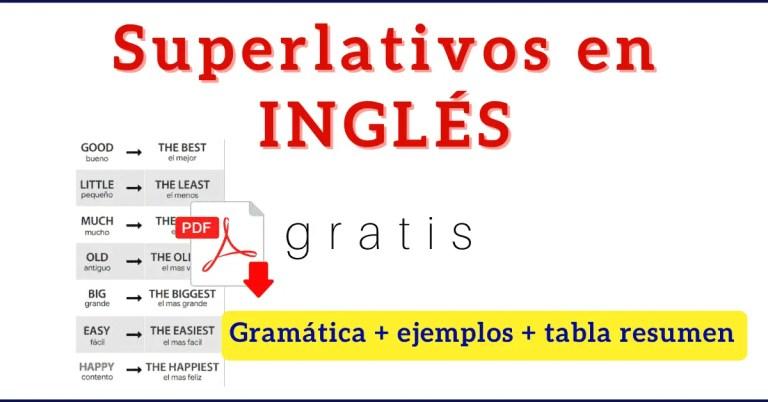 adjetivos superlativos en ingles