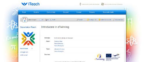 Introducere în eTwinning