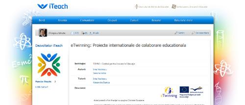 eTwinning: Proiecte internationale de colaborare educationala