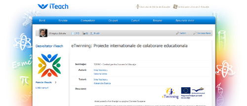 eTwinning: Proiecte internationale de colaborare educationala