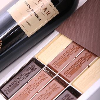chocolade-wijn