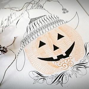 Halloween flourish