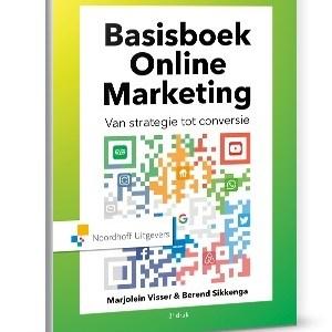 Basisboek online marketing - Berend Sikkenga, Marjolein Visser - Hardcover (9789001887148)