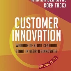Customer innovation - Koen Tackx, Marion Debruyne - Paperback (9789401458795)