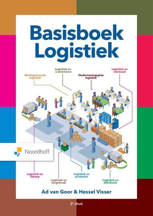 Basisboek logistiek - Ad van Goor, Hessel Visser - Hardcover (9789001749972)