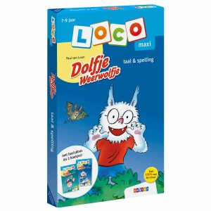 Maxi Loco | Dolfje Weerwolfje pakket taal & spelling