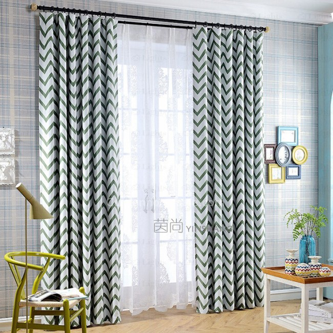 Geometric Patterned Curtains, Fabric, Ideas **2021 Curtain