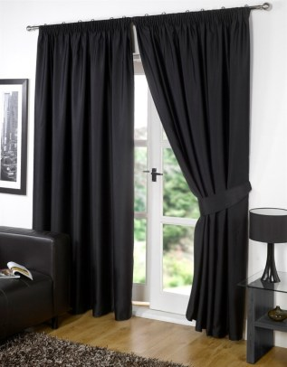 Black Curtain Set Important Tips For Choosing and Using Curtain