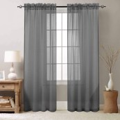 How to Choose a Curtain With Sheer Behind Curtain
