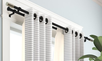 Choosing the Best Quality Curtain Rods Shower Curtain
