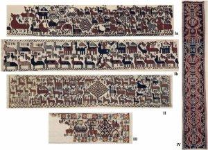 The Överhogdal Viking wall-hangings.