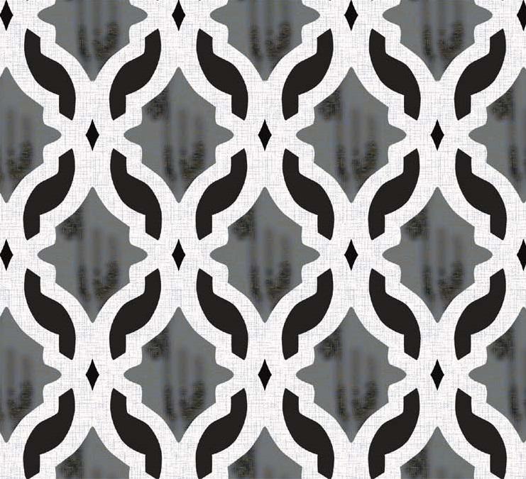savona curtain fabric grey trellis
