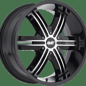 A612 Gloss Black Machined