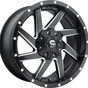 Renegade Matte Black Milled D594