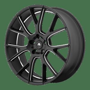 AVX-7 Matte Black Milled