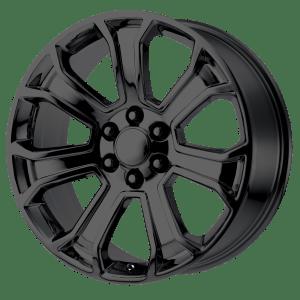 PR166 Gloss Black