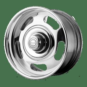Rally Two-Piece Chrome Center Polished Barrel