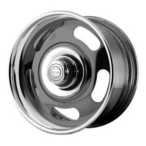 RALLY Two-Piece Gray Center Polished Barrel