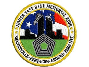 # 1 911 Memorial Ride Patch