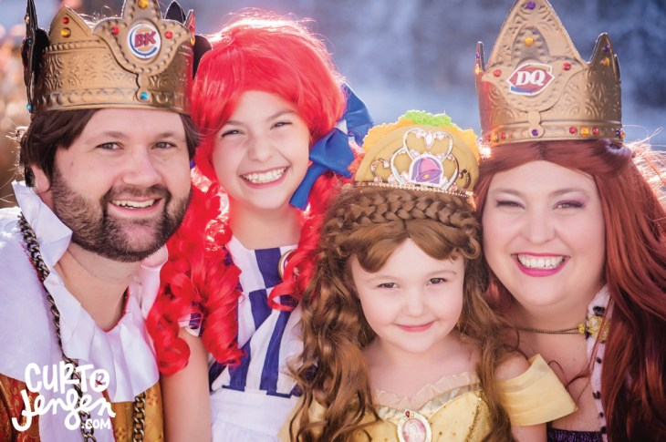 The Royal Fast Food Family