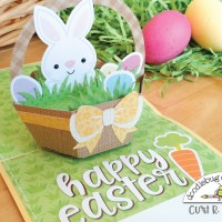 How to Make an Easter Basket Pop-Up Card