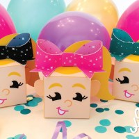 Free Printable JoJo Siwa Favor Boxes