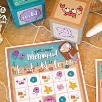 Free Printable Mermaid BINGO