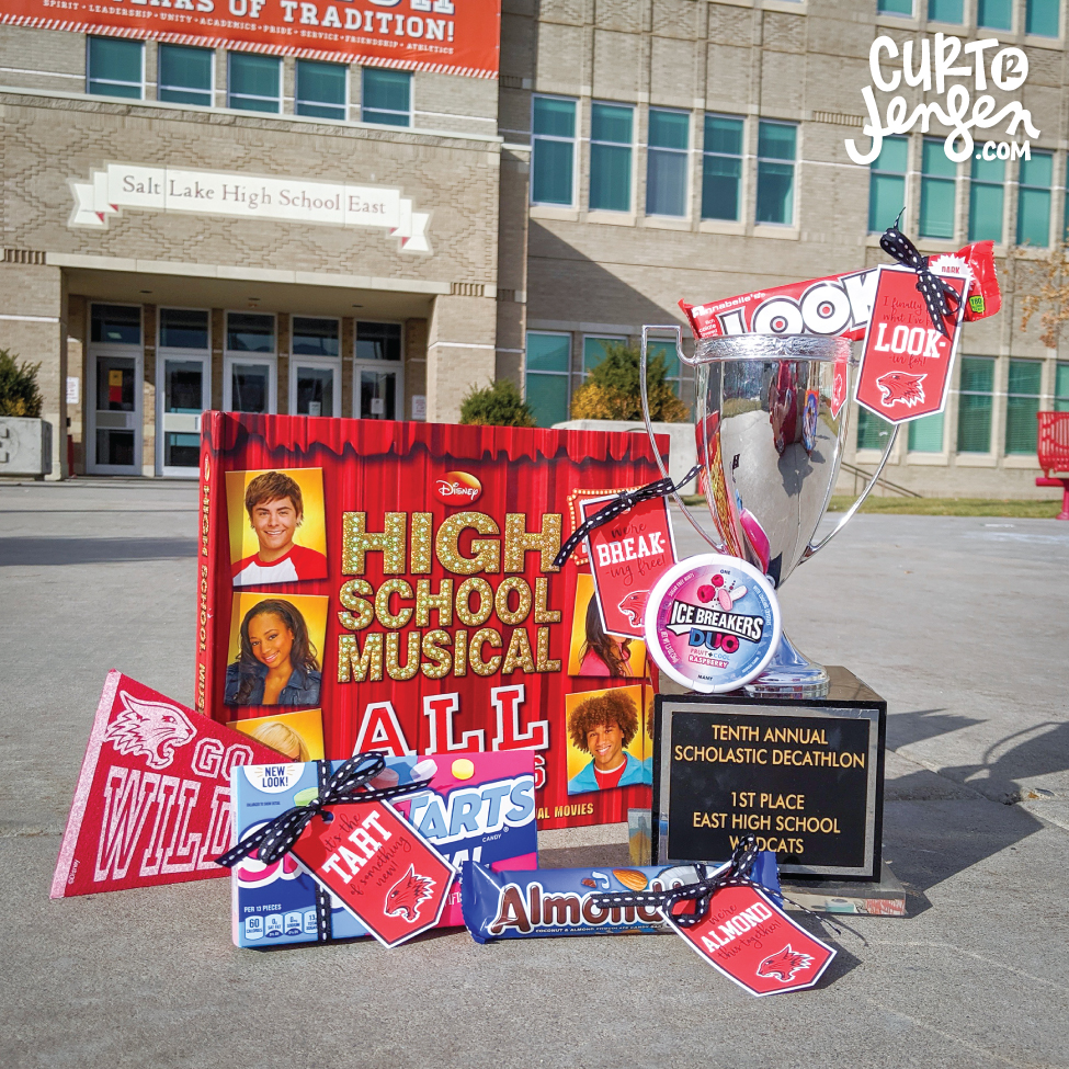 High School Musical: The Musical: The Series party favor ideas.