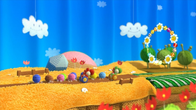 yoshis woolly world 6 - Nintendo Wii U Yoshi's Woolly World