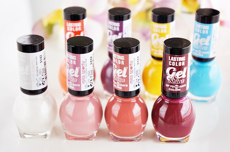 miss sporty lasting color gel shine