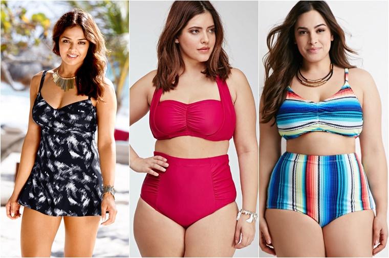 plussize zwemkleding tips 2 - Plussize inspiratie | 10 x badpakken, bikini's en tankini's