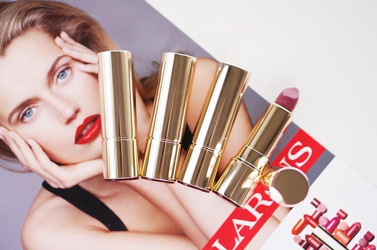 clarins joli rouge review 1 - Love it! | Clarins Joli Rouge lipsticks