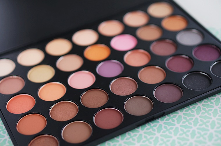 morphe 35w palette review swatches 3 - Morphe 35W palette & nieuwe kwastenset