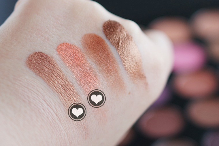 morphe 35w palette review swatches 4 - Morphe 35W palette & nieuwe kwastenset