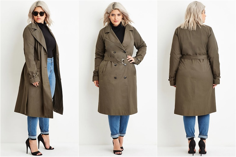 plussize trenchcoat 2 - Plussize Fashion | De leukste trenchcoats voor de lente