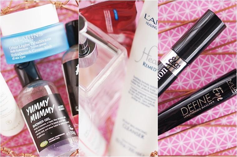 opgemaakte beautyproducten maart 2016 1 - Welke beautyproducten verdwenen er in mijn prullenbak?