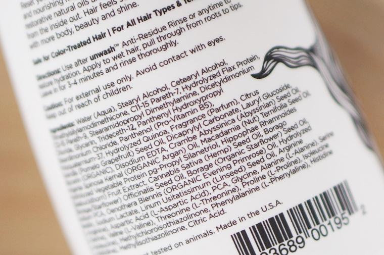 unwash review 9 - Unwash haarproducten (co-wash & no-poo tip)