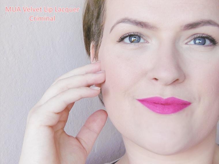 mua velvet lip lacquer review 6 - Budget beauty tip | MUA Velvet Lip Lacquer
