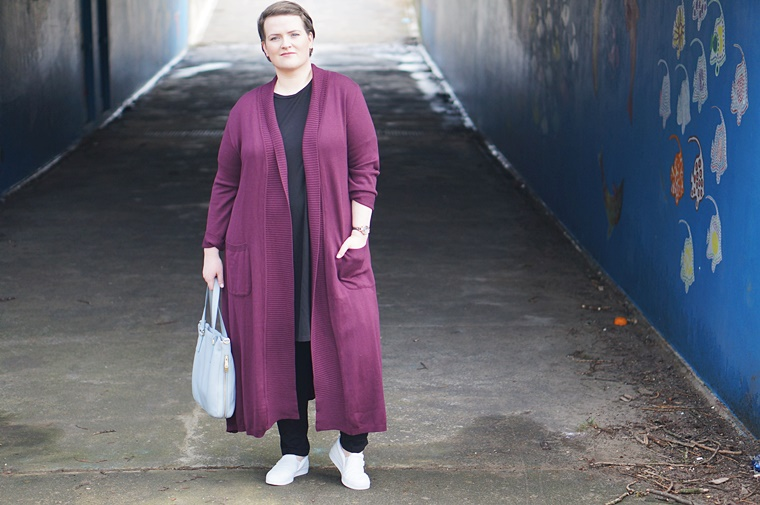 plussize outfit of the day long cardigan 1 - Plussize outfit of the day | The long cardigan