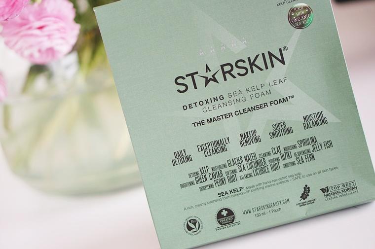 starskin the master 3 - Starskin The Master cleanser foam & sheet mask
